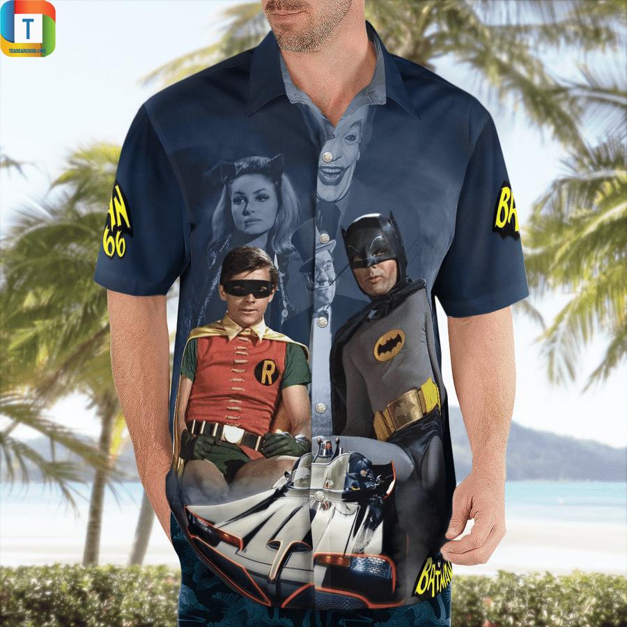 Batman and Robin 66 hawaiian shirt 1