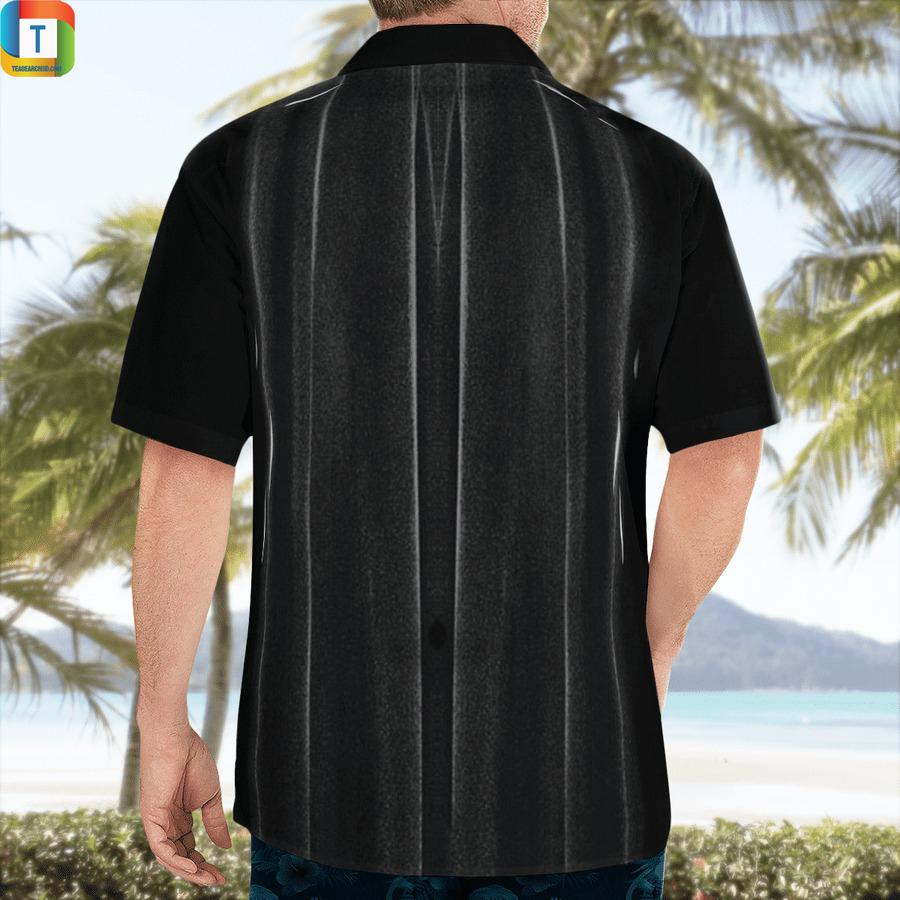 Batman black cosplay hawaiian shirt 2