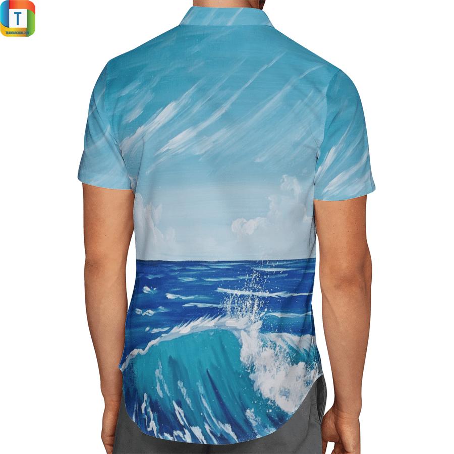 Batman surfing hawaiian shirt 2