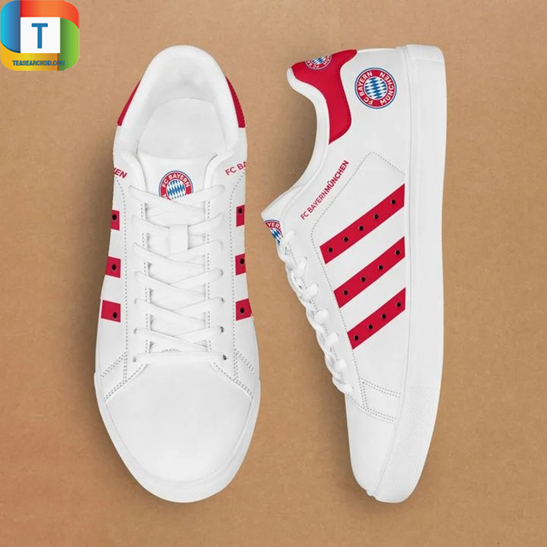 Bayern munchen stan smith low top shoes 3