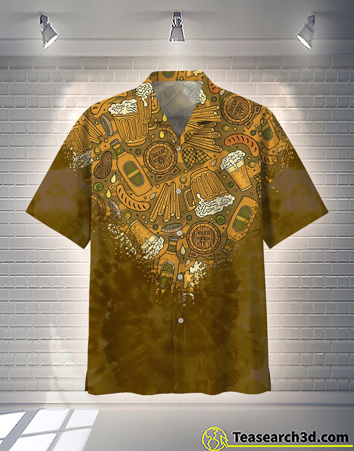 Beer Hawaiian Shirt