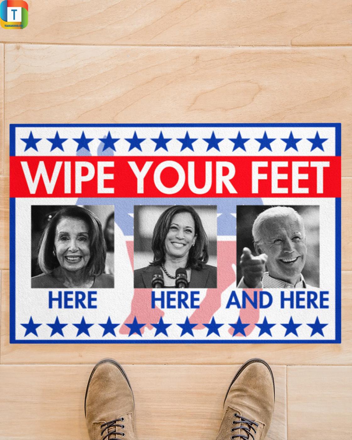 Biden Wipe your feet doormat 1