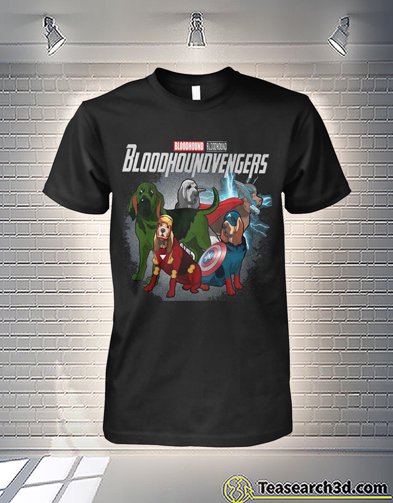 Bloodhound bloodhound bloodhoundvengers avengers shirt