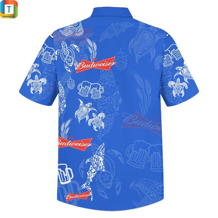 Budweiser hawaiian shirt 2