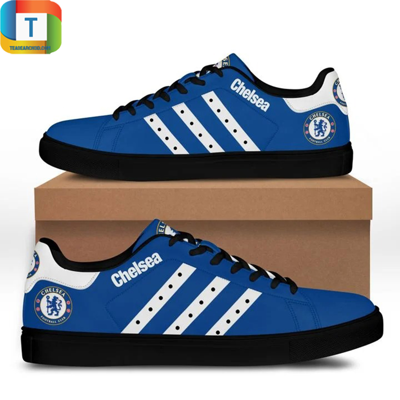 Chelsea stan smith low top shoes 3