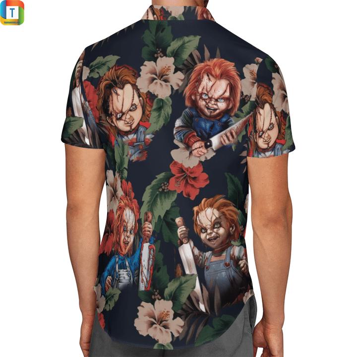 Chucky hawaiian shirt 2