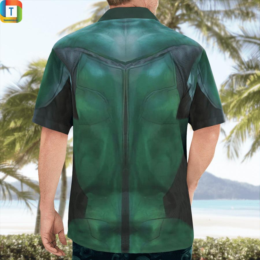 DC green lantern cosplay hawaiian shirt 2