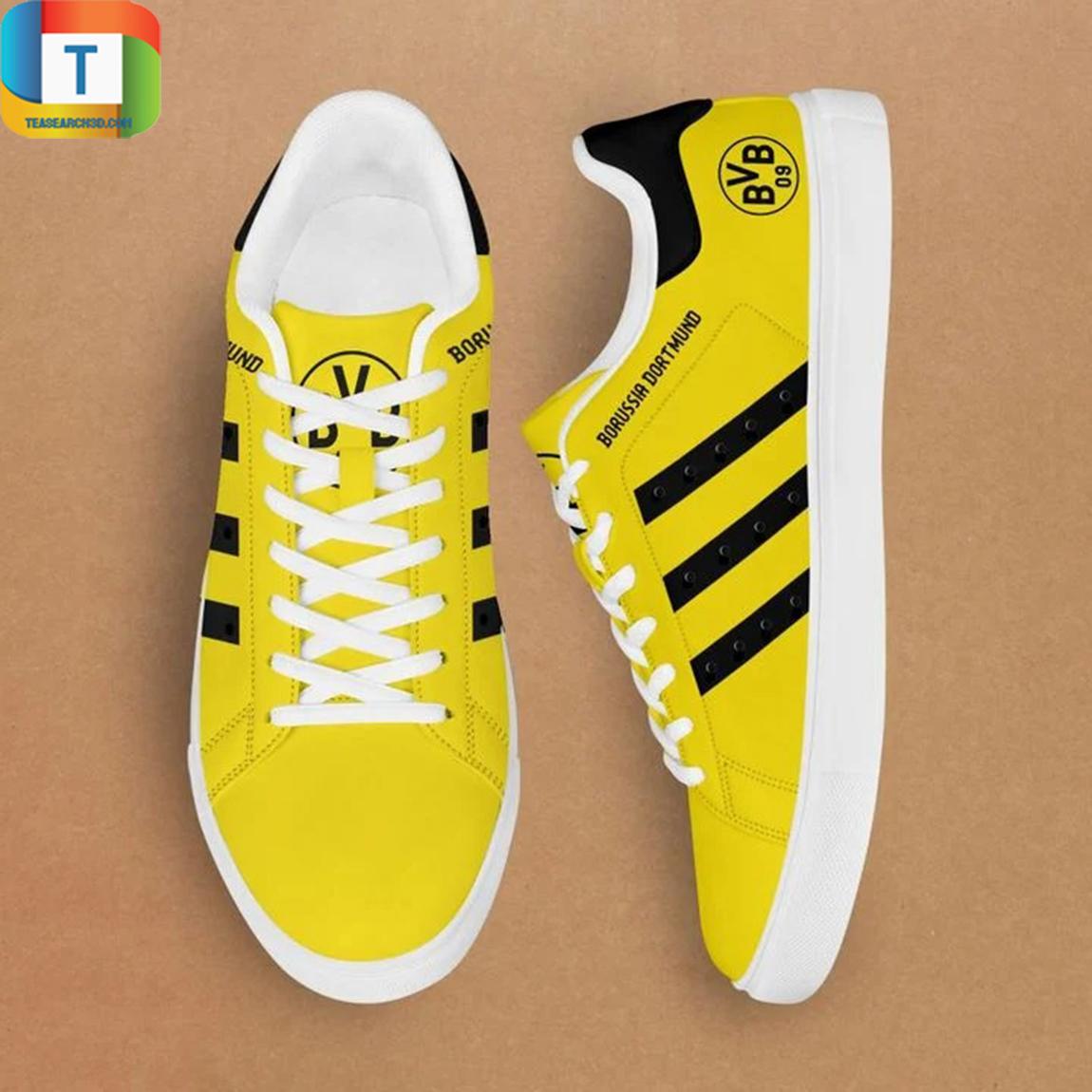 Dormund stan smith low top shoes 3