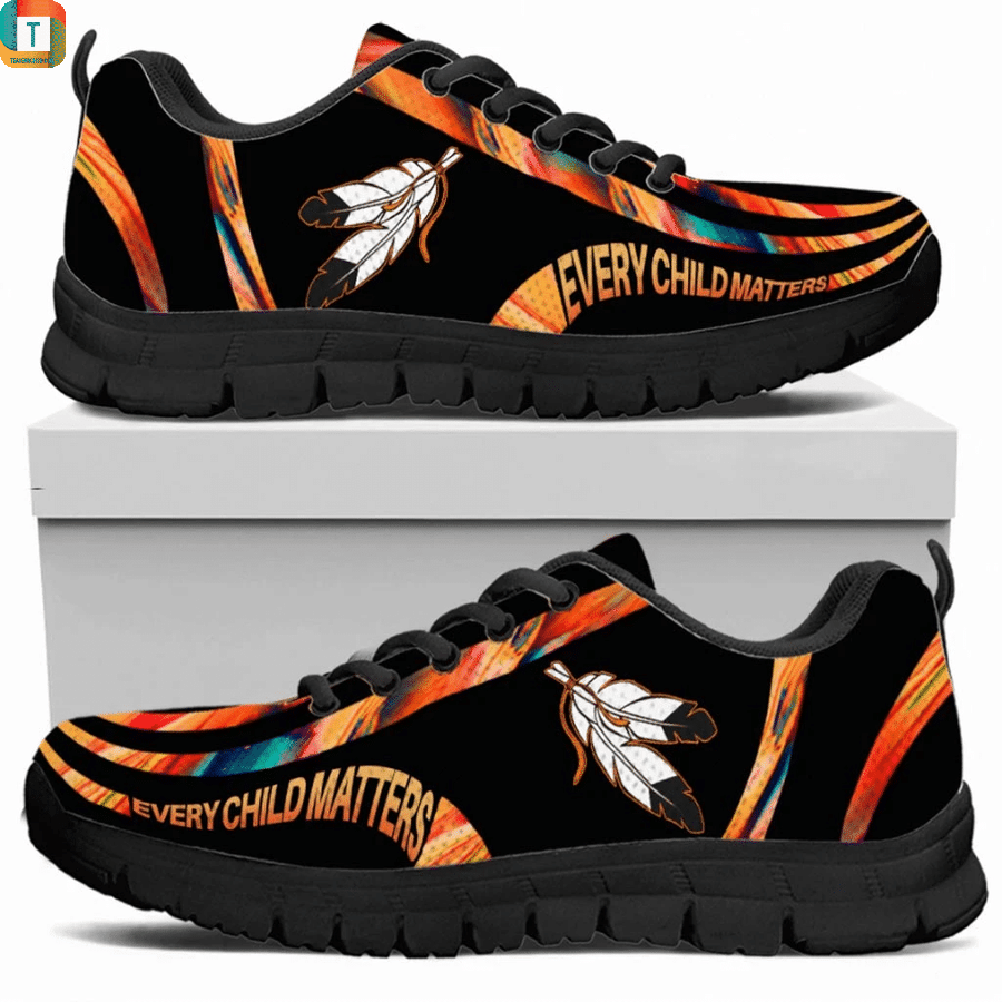 Every child matters native american sneaker 2