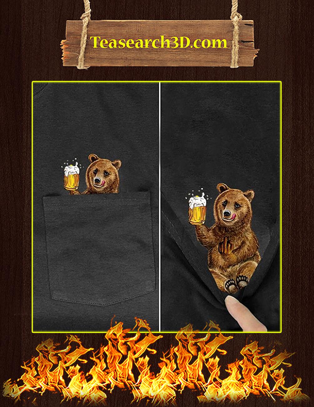 Funny Bear Pocket T-Shirt