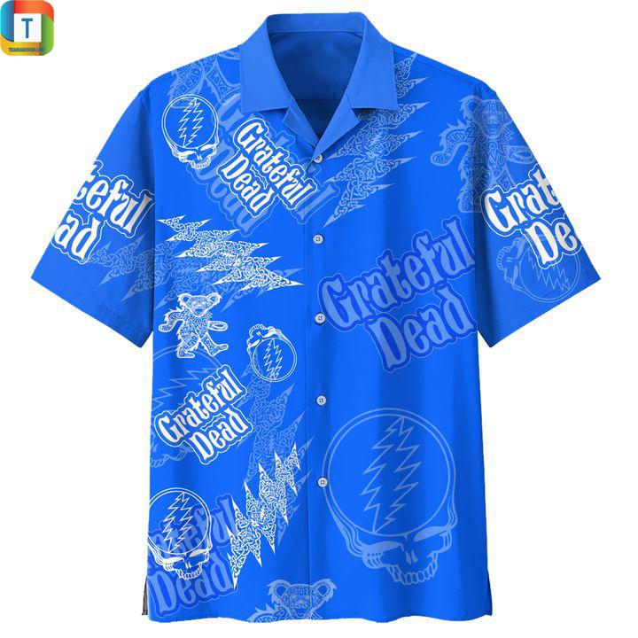 Grateful dead hawaiian shirt 1