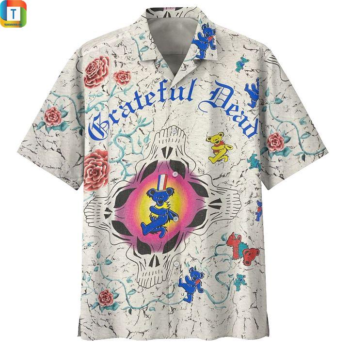 Grateful dead vintage hawaiian shirt 1