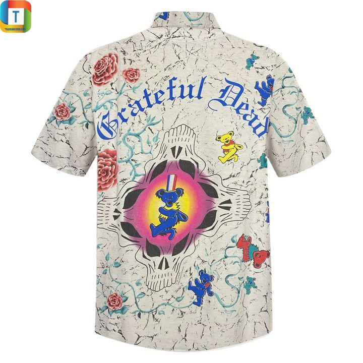Grateful dead vintage hawaiian shirt 2
