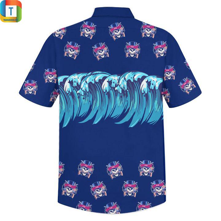Guns N' Roses Hawaiian Shirt 2