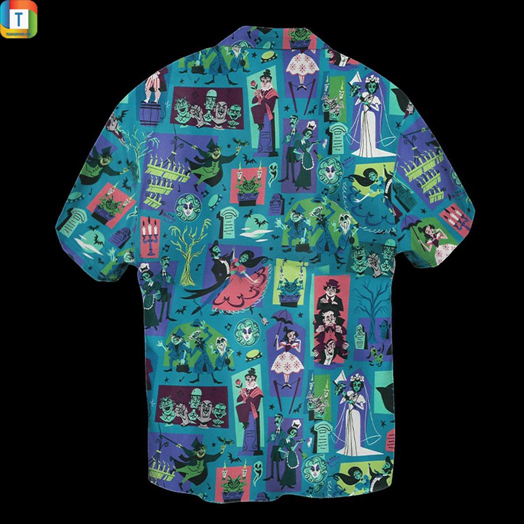 Haunted mansion hawaiian shirt 2
