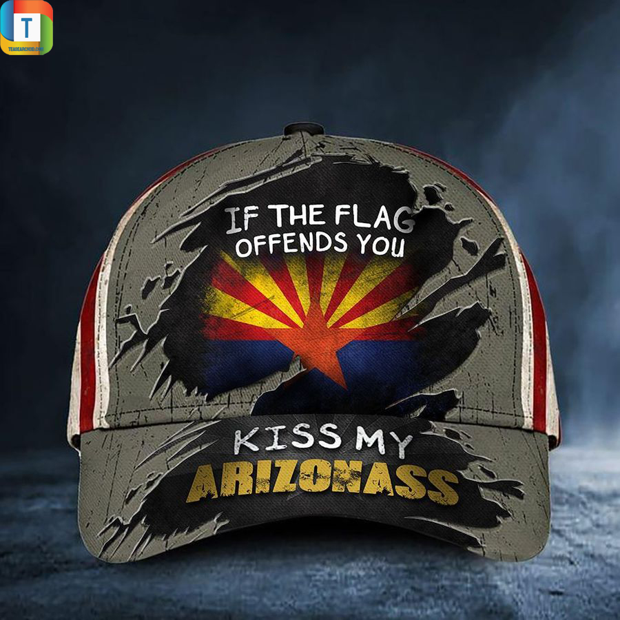 If The Flag Offends You Kiss My Arizonaass Classic Cap Hat