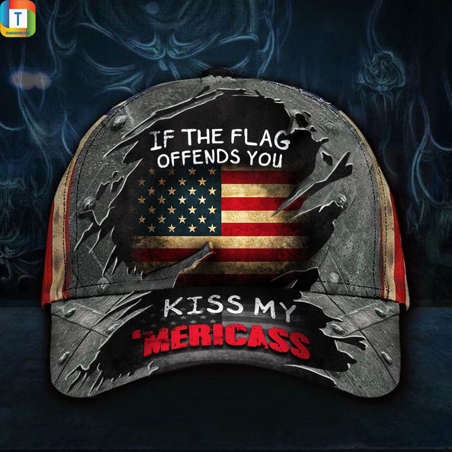 If The Flag Offends You Kiss My 'Mericass Classic Cap Hat