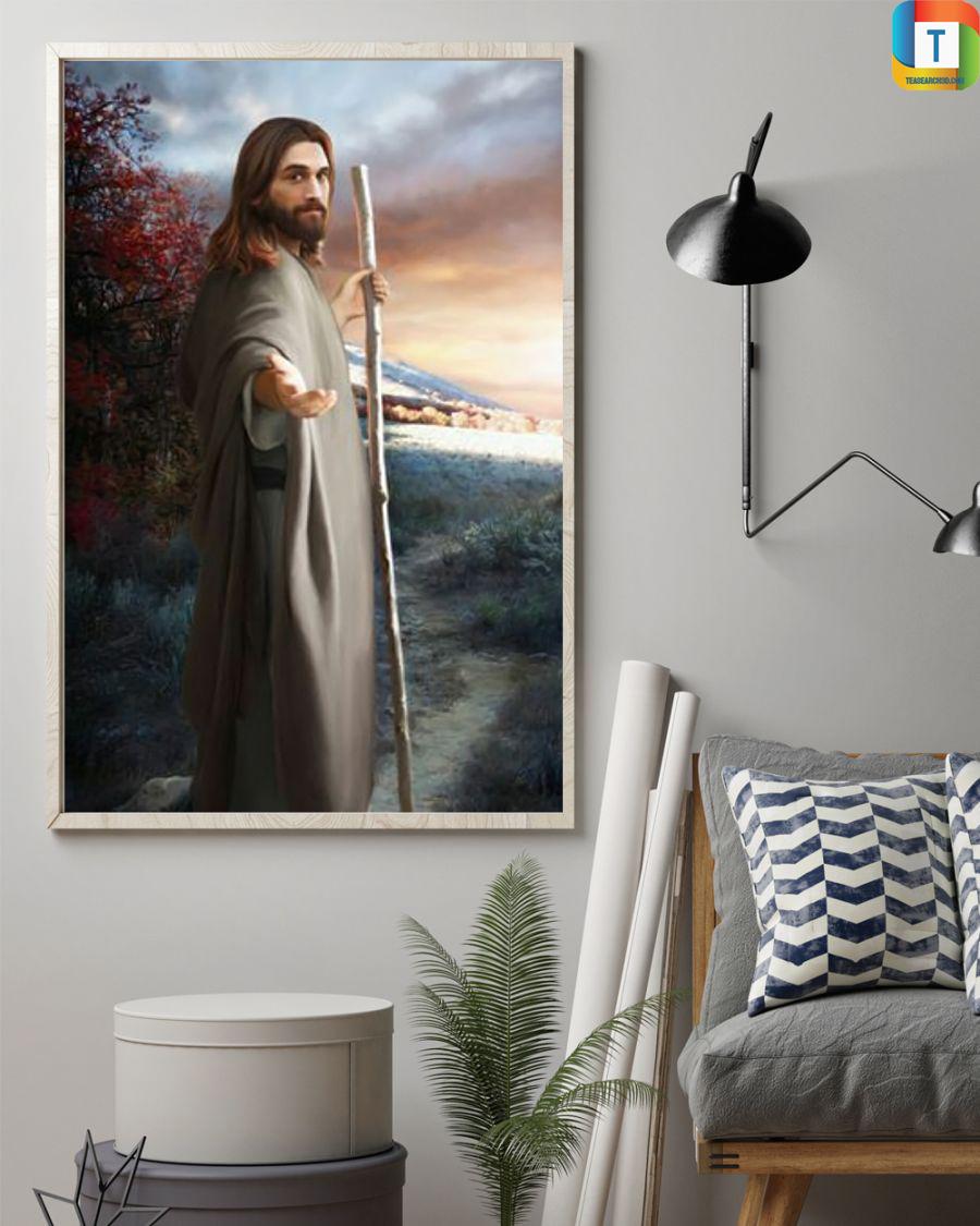 Jesus christ come follow me poster 1
