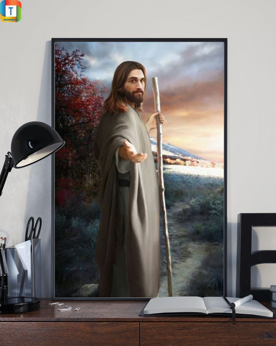 Jesus christ come follow me poster 2