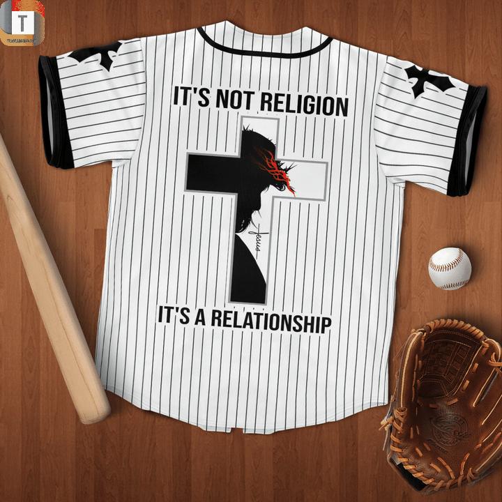 Jesus has my back baseball jersey 2