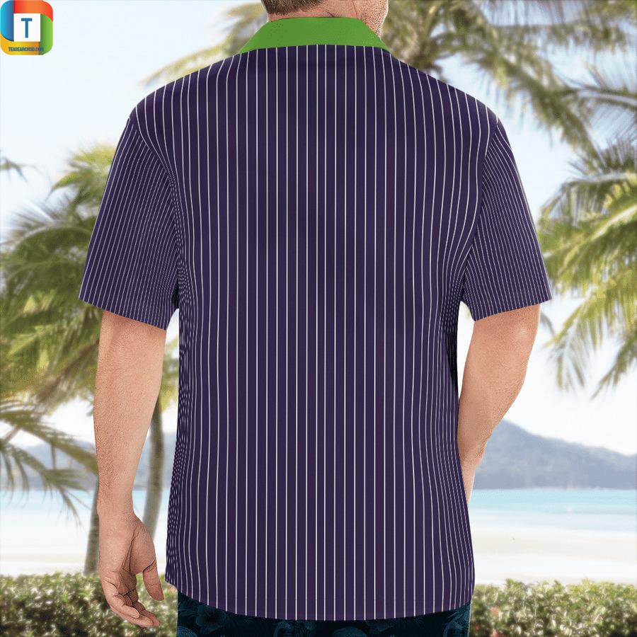 Joker cosplay hawaiian shirt 2