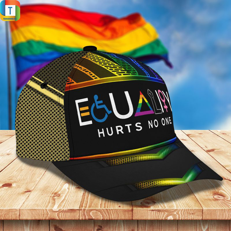LGBT Equality hurts no one classic cap Hat 2