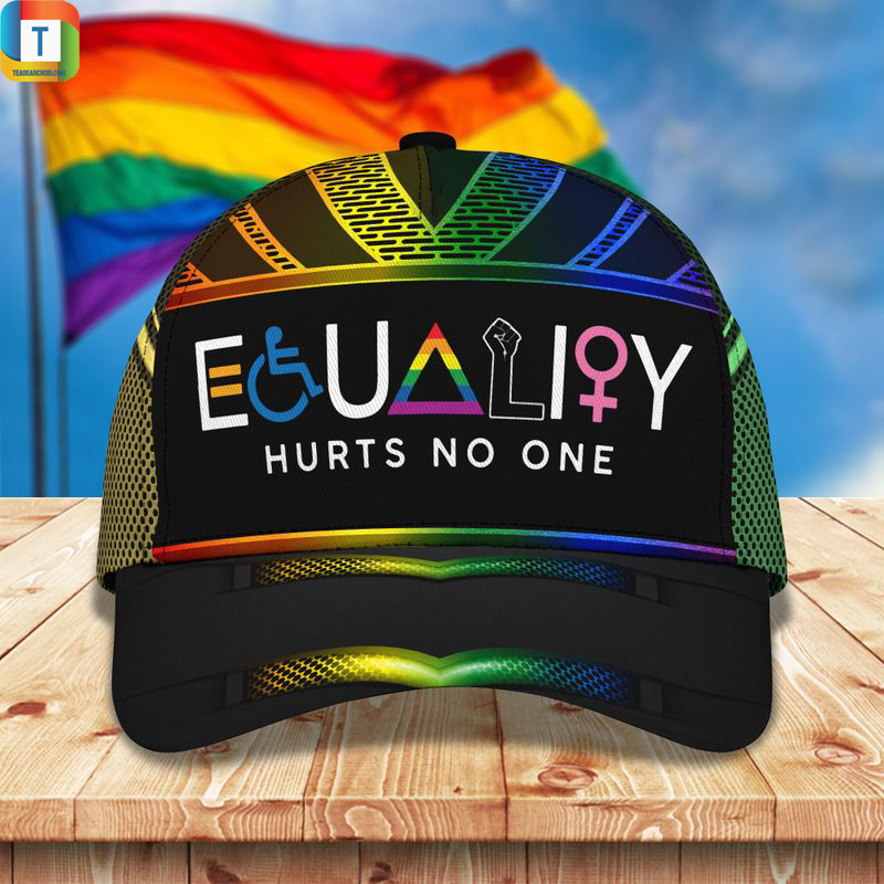 LGBT Equality hurts no one classic cap Hat