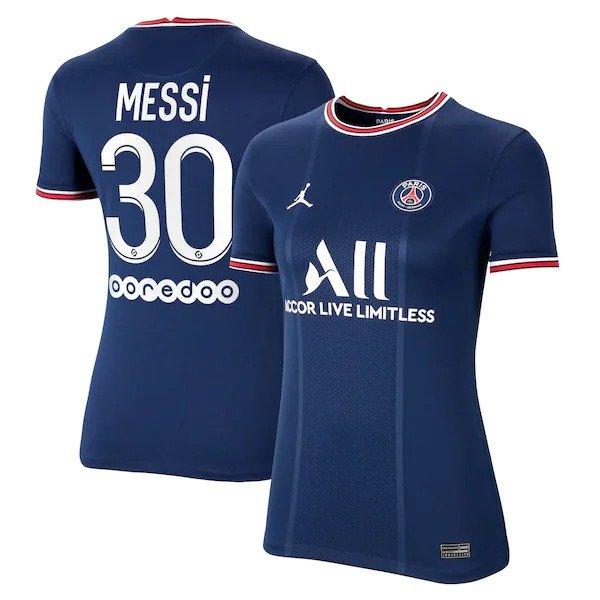 Lionel Messi Paris Saint-Germain Home Kit 2021 2022 2