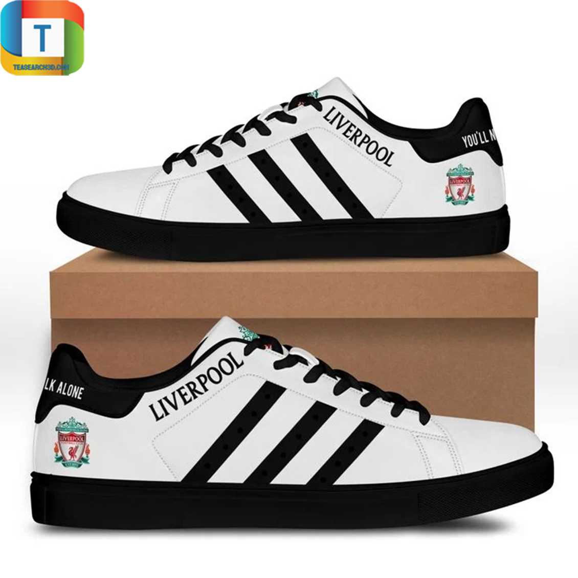 Liverpool stan smith low top shoes 3