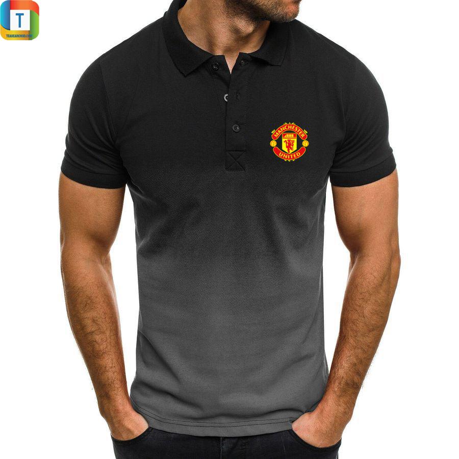 Manchester united gradien polo shirt 1