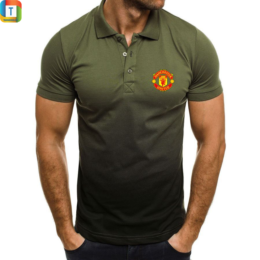 Manchester united gradien polo shirt 2