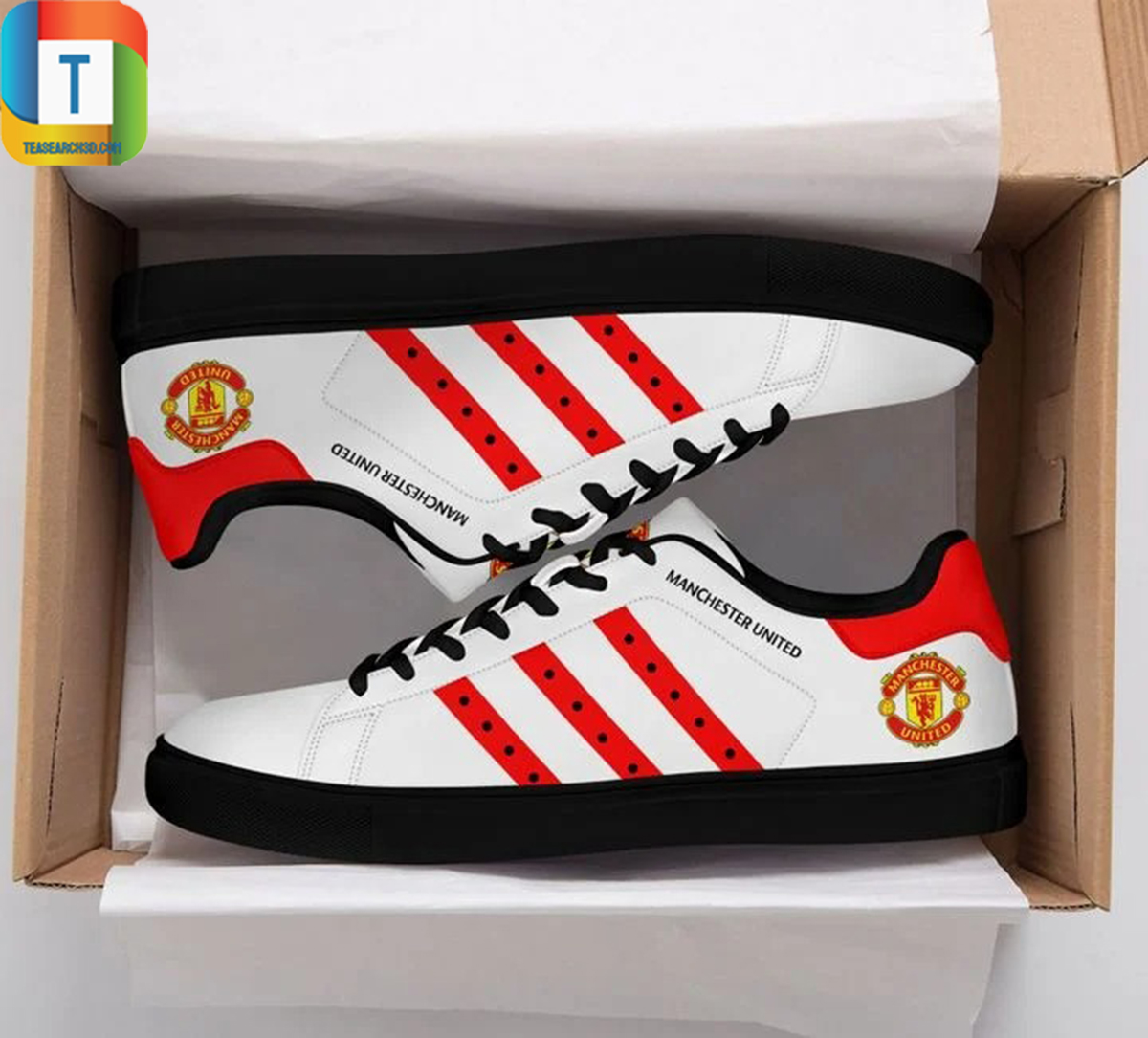 Manchester united stan smith low top shoes