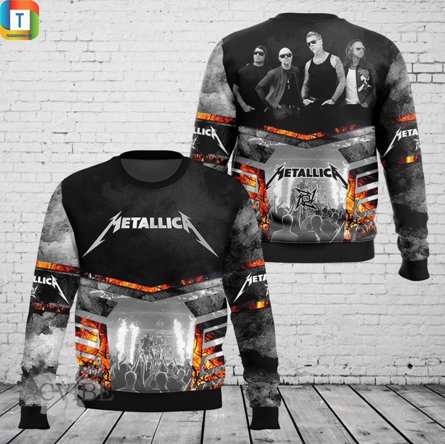 Metallica 3d all over printed sweatshirt