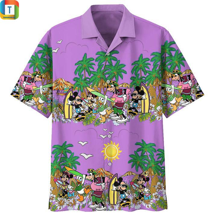 Mickey Mouse universe hawaiian shirt 1