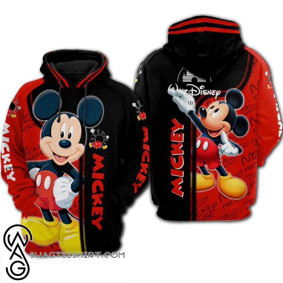 Walt disney mickey mouse 3d hoodie