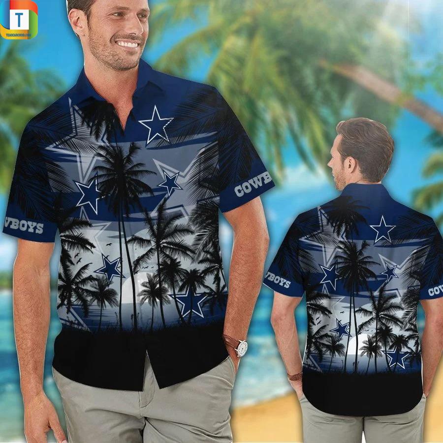NFL dallas cowboys hawaiian shirt 1