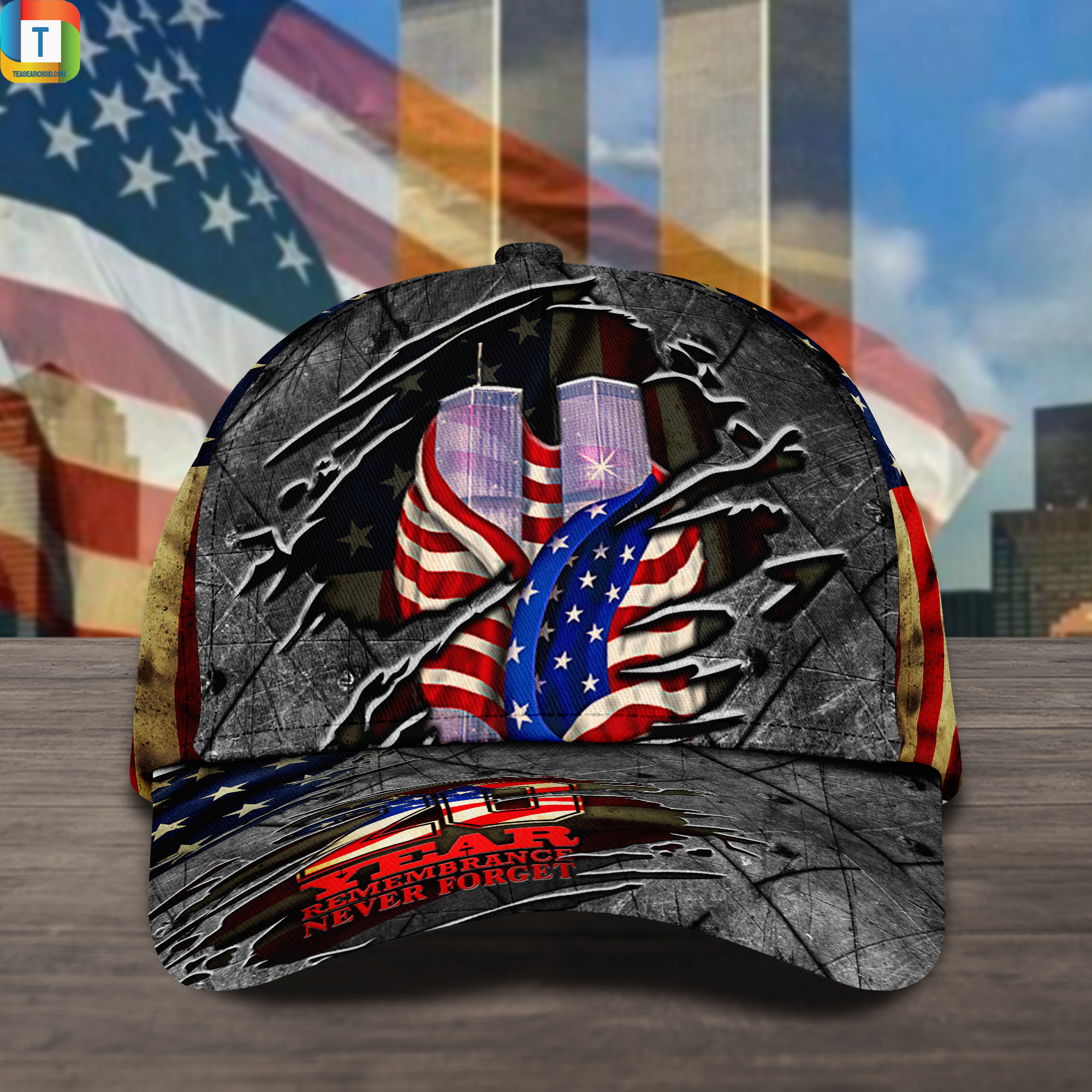 Never forget september 11th classic cap