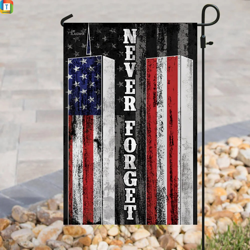 Patriot Day 911 Never Forget American Flag 3