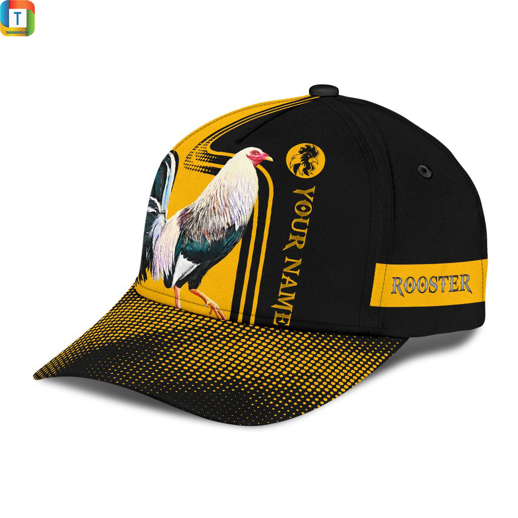 Personalized Rooster 3D Printed Classic Cap Hat 3