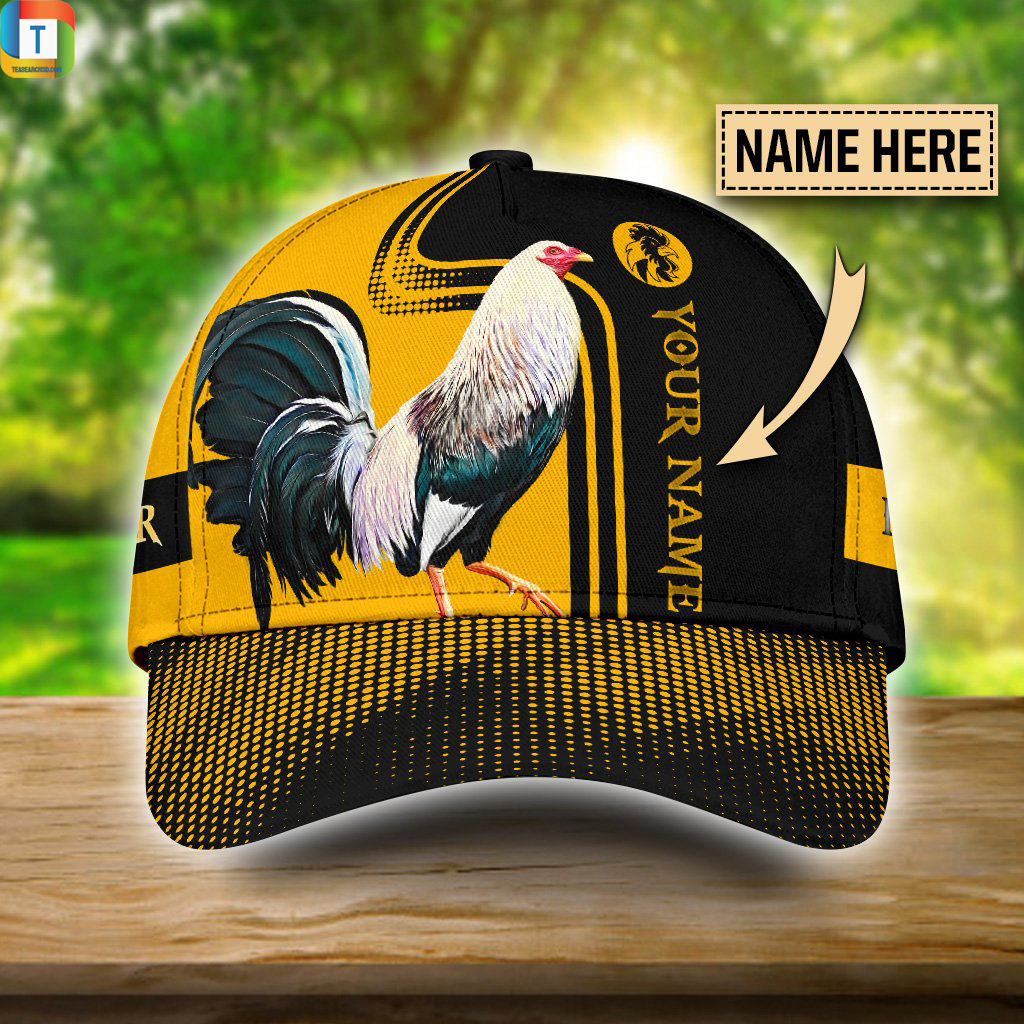 Personalized Rooster 3D Printed Classic Cap Hat