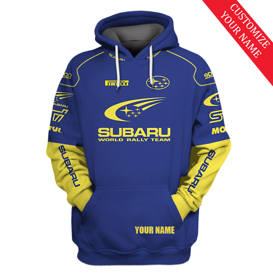 Personalized World Rally Team Racing F1 3D Full Printing Hoodie