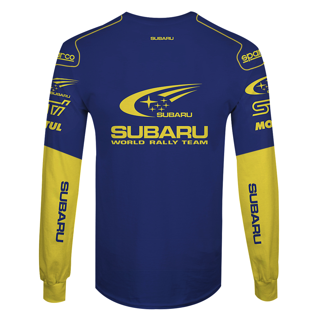 Personalized World Rally Team Racing F1 3D Full Printing long sleeve