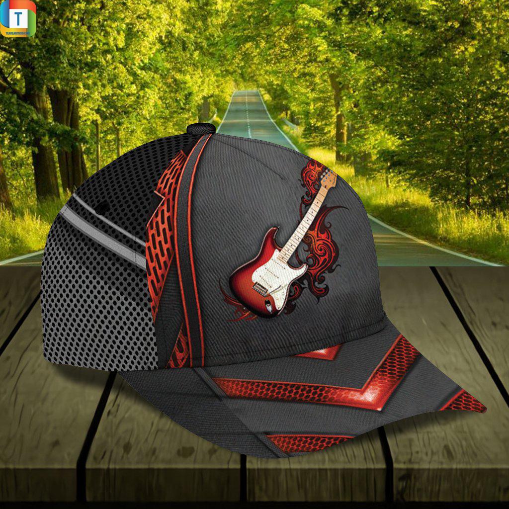 Personalized custom name guitar classic cap 1
