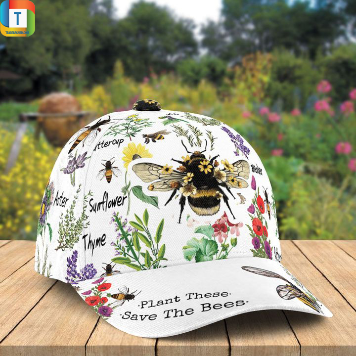 Plant These Save The Bees Classic Cap 2
