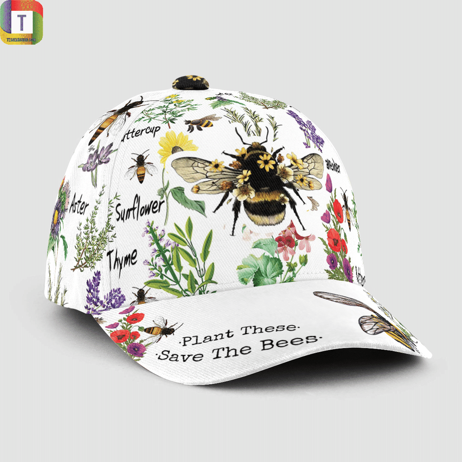Plant These Save The Bees Classic Cap