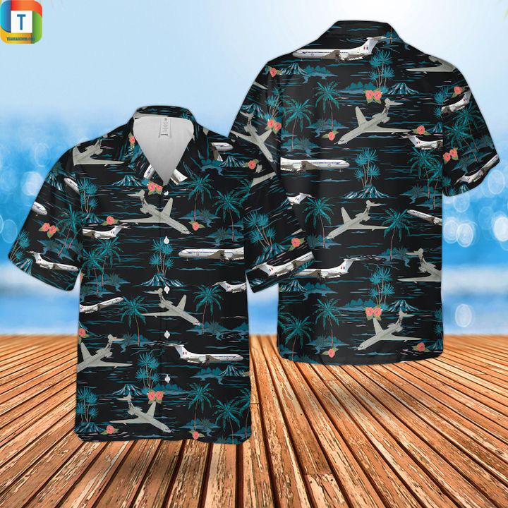 RAF Historical Vickers vc10 hawaiian shirt