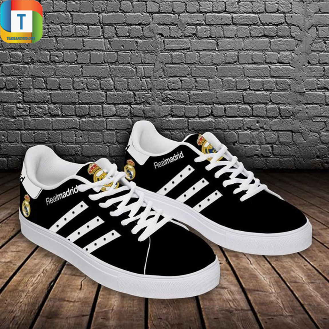 Real madrid stan smith low top shoes 3