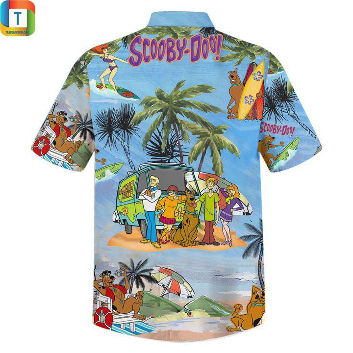 Scooby doo summer vacation hawaiian shirt 2