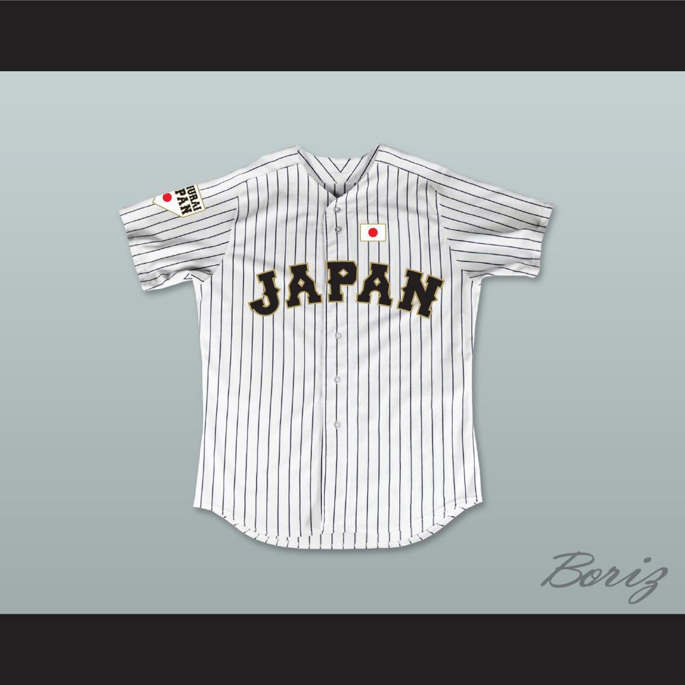 Shohei Ohtani 16 Japan Samurai white