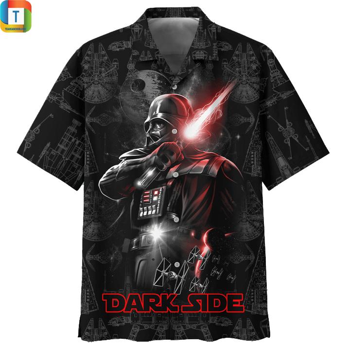 Star wars amoled dark side hawaiian shirt
